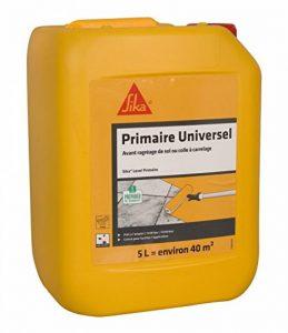 Sika Level Primaire - Primaire d'adhérence pour supports difficiles - 5L couvre environ 40m² - liquide laiteux rouge de la marque SIKA FRANCE S.A.S image 0 produit