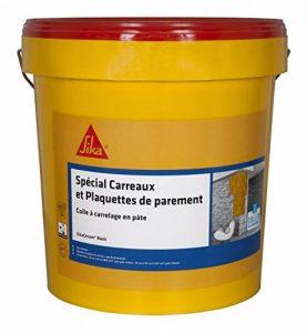 SikaCeram Basic - Colle à carrelage en pâte pour carreaux et plaquette de parement (D1-ET) - 25kg - Blanc de la marque SIKA FRANCE S.A.S image 0 produit