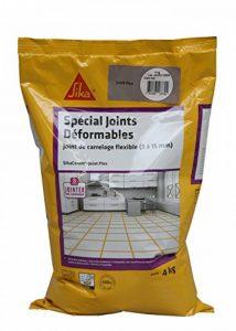 SikaCeram Joint Flex - Mortier joint de carrelage de largeur 3 à 15mm spécial terrasses et balcons (CG2WA) - Gris 4kg de la marque SIKA FRANCE S.A.S image 0 produit