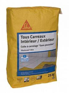 SikaCeram Xtra - Colle à carrelage intérieur et extérieur pour carreaux 60x60 max (C2-ET) - 25kg - blanc de la marque SIKA FRANCE S.A.S image 0 produit