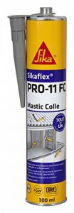 Sikaflex PRO 11 FC - Mastic-colle tout en 1 à prise rapide et multi applications -SNJF - 300ml - gris béton de la marque SIKA FRANCE S.A.S image 0 produit