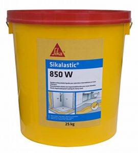 Sikalastic 850W - Etanchéité sous carrelage - revêtement pour pièces humides - 25kg - Jaune paille de la marque SIKA FRANCE S.A.S image 0 produit