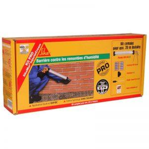 SikaMur InjectoCream 100 - Traitement contre les remontées capillaires / remontées d'humidité dans les murs - Kit 20m² - blanc de la marque SIKA-FRANCE-S-A-S image 0 produit