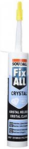 Soudal Colle Fix All Crystal 290 ml Transparent de la marque Soudal image 0 produit