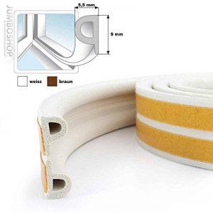 STEIGNER 40 m Joint de Fenêtre Autocollant Profil P Blanc Joint en Caoutchouc EPDM Joint d'Étanchéité de la marque STEIGNER image 0 produit