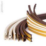 STEIGNER 40 m Joint de Fenêtre Autocollant Profil P Blanc Joint en Caoutchouc EPDM Joint d'Étanchéité de la marque STEIGNER image 3 produit