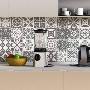 Stickers adhésifs carrelages muraux azulejos - 15 x 15 cm - 30 pièces de la marque Ambiance-Live image 0 produit