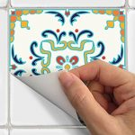 Stickers adhésifs carrelages muraux azulejos - 20 x 20 cm - 30 pièces de la marque Ambiance-Live image 3 produit