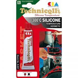 Technicqll Mastic adhésif silicone haute température Noir 20 ml Résistant à la chaleur jusqu'à 300°C de la marque Technicqll image 0 produit
