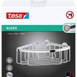 tesa Aluxx - panier de douche d'angle, Aluminium Chromé, Garanti Inoxydable, Montage sans perçage - 92Mm x 192Mm x 200mm de la marque Tesa image 2 produit