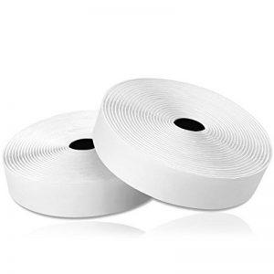 Thinkcase Ruban adhésif Double Face Ultra résistant avec Bande Velcro et Bande adhésive Blanc Largeur 20 mm Longueur 5 m de la marque Thinkcase image 0 produit