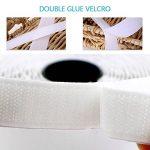 Thinkcase Ruban adhésif Double Face Ultra résistant avec Bande Velcro et Bande adhésive Blanc Largeur 20 mm Longueur 5 m de la marque Thinkcase image 1 produit