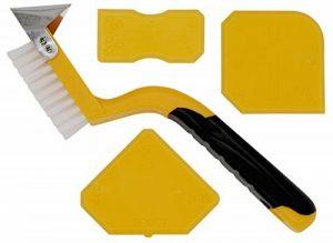 Thorani | Outil Lisseur Joint | Kit Complet: Brosse pour les Joints avec Racloir et Lisseurs | Idéal pour Salle de Bain et Cuisine | Joints Silicone Acrylique | Nettoyage Facile de la marque Thorani image 0 produit