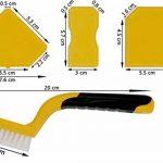 Thorani | Outil Lisseur Joint | Kit Complet: Brosse pour les Joints avec Racloir et Lisseurs | Idéal pour Salle de Bain et Cuisine | Joints Silicone Acrylique | Nettoyage Facile de la marque Thorani image 1 produit