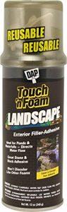 Touch N mousse 4001141212aménagement paysager en polyuréthane d'étanchéité–Noir de la marque Touch 'n Foam image 0 produit