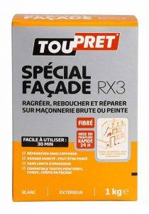 Toupret 251060 Enduit de rebouchage extérieur fibre RX3 1 kg de la marque Toupret image 0 produit