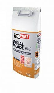 Toupret 251070 Enduit de rebouchage extérieur fibre RX3 5 kg de la marque Toupret image 0 produit
