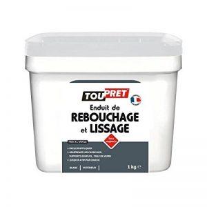 Toupret LSRLP1 Enduit de rebouchage/lissage Tout Support 1 Kg, Blanc de la marque Toupret image 0 produit