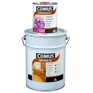 URETHANE 231 incolore (B+D) - SATINE 1,2L - Vernis polyuréthane bi-composant tous supports - COMUS de la marque Comus image 0 produit