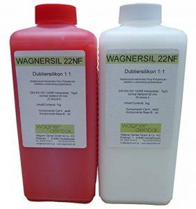 Wagnersil 22NF Caoutchouc-silicone de duplication de qualité supérieure (mou) 2kg de la marque Wagner Silicones image 0 produit